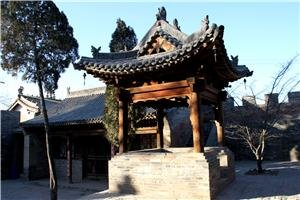 zhangbi ancient village