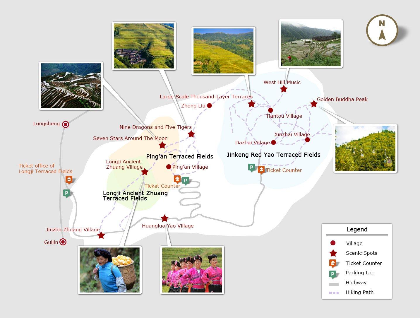 The Longji Rice Terraced Fields Get Travel Tips From