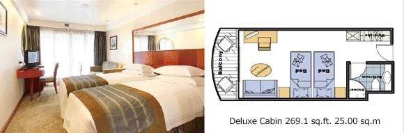 New Century Diamond Deluxe Cabin
