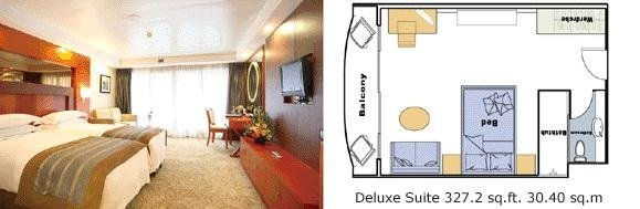 New Century Diamond Deluxe Suite