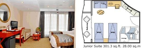 New Century Diamond Junior Suite
