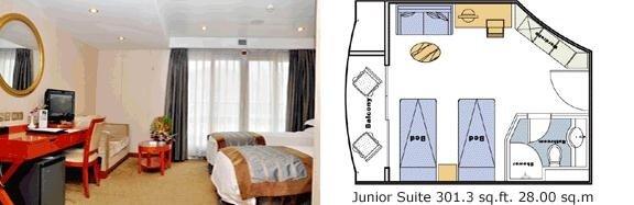 New Century Diamond Junior Suite