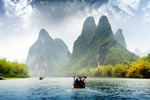 the Li River in May