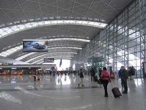 Shangliu Airport in Chengdu, Southwest China