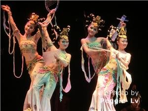 the tang-style music and dance