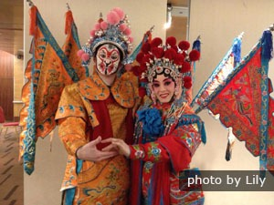 Beijing Opera players