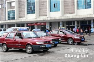 Guilin taxis