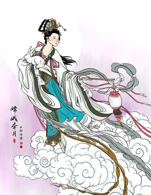 3  Interesting Mid-Autumn Festival Stories — the Moon Lady, Man, and Rabbit