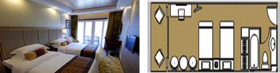 Yangtze River Gold 6 Deluxe Cabin