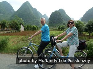 Cycling around Yangshuo's countryside