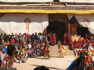 Tibetan New Year Dancers