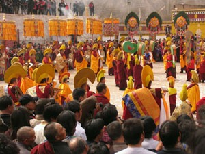 tibetan new year celebration