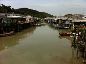Tai O on Lantau Island is a site for dragon boat racing