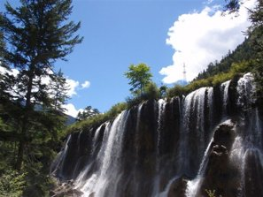 jiuzhaigou valley scenic