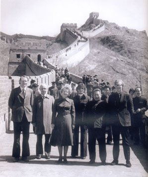 Great People Visited the Great Wall