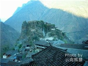 Ancient buildings in Baoshan Stone Village