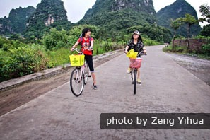 Cycling in Yangshuo