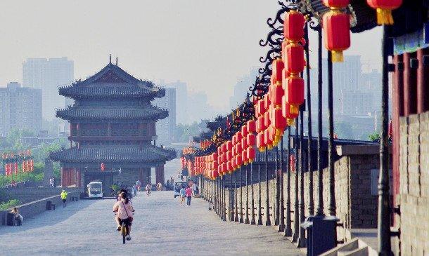 西安古城墙