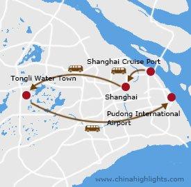 新港线路-上海地图