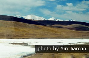 Scenery on Qinghai-Tibet Railway