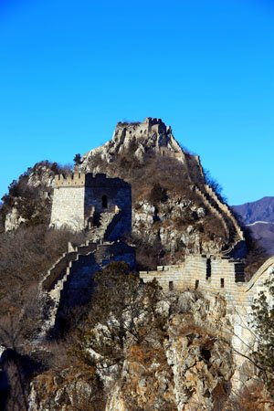The Great Wall at Yulin