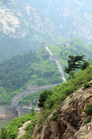 Jiumenkou Great Wall
