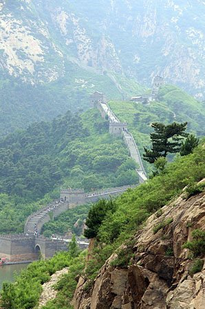 The Jiumenkou Great Wall Section