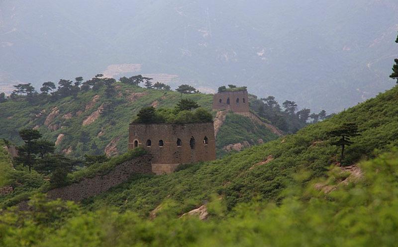 The Jiumenkou Great Wall Section