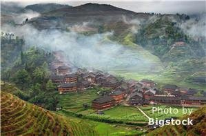 Longji Terraced Fields Plowing Festival