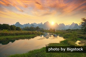 Xingping sunrise