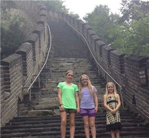 Visiting the Great Wall with Children