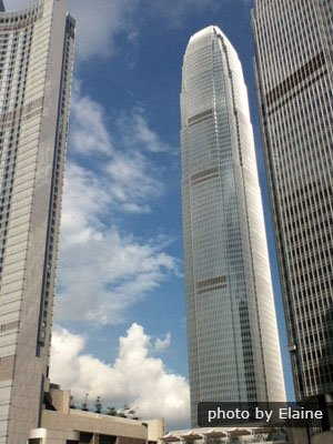 IFC Tower in Hong Kong