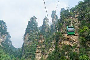 Cable car, Zhangjiajie National Forest Park