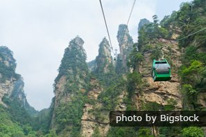 World's Longest Cableway, Tianmen Mountain, Zhangjiajie