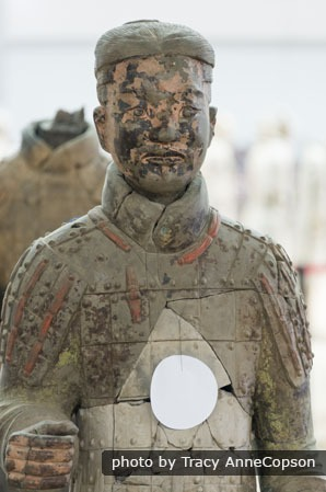 Terracotta Army with Color
