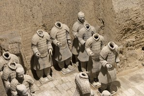 Pit three, Terracotta Army