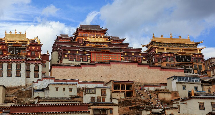 The Main Buildings of Songzanlin Monastery