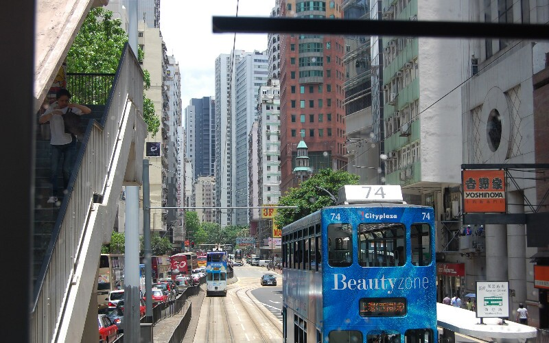 Hong Kong Tramways — One of China's Top 20 Most Popular Attractions