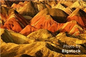 Zhangye Danxia National Geological Park — Rainbow Mountains
