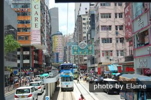 Hong Kong Tramways — One of China's Top 20 Most Popular Attractions in 2016