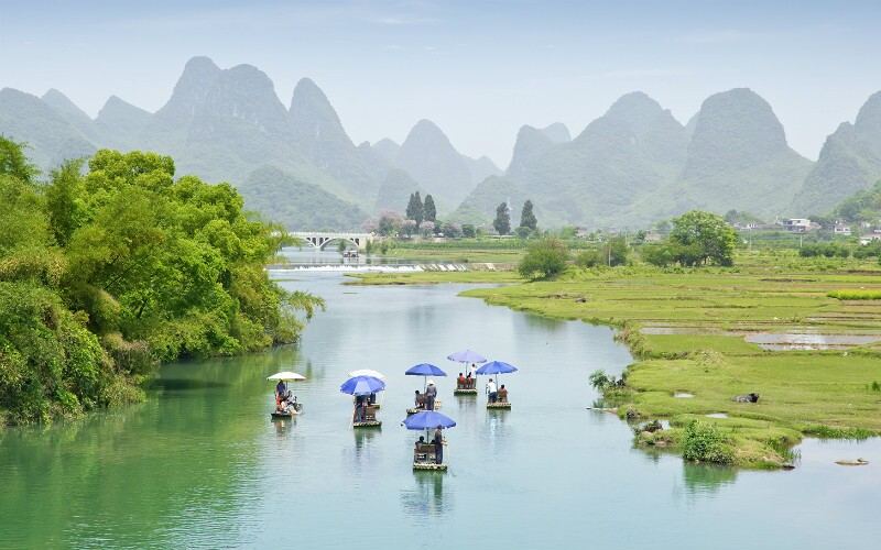 Best Attractions in Guilin's Counties