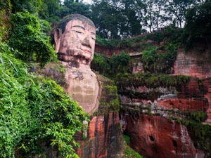 Buddhism in China, The Leshan Giant Buddha