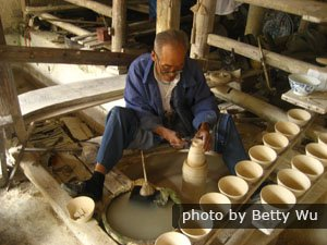 Chinese porcelain workshop