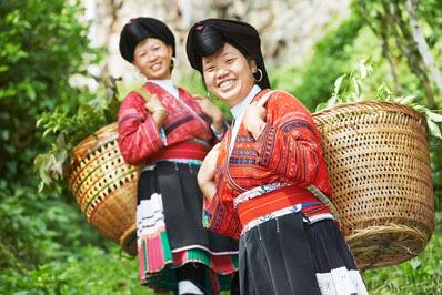 etnia Yao di longji