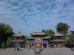 Grand Buddha Temple in Zhangye