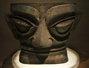 See amazing Bronze Age artifacts at Sanxingdui.