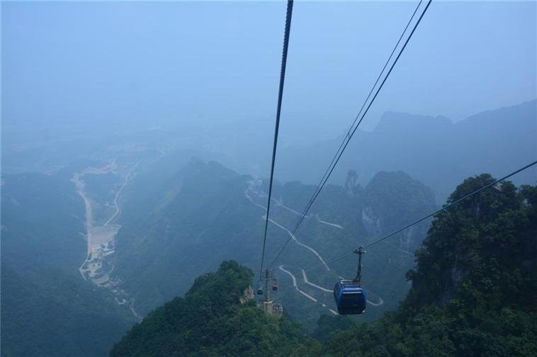 Cable car, Tianmen Mountain