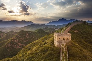 The Jinshanling Great Wall section