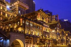 Hongya Cave in Chongqing