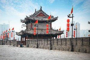 Les remparts historiques de Xi'an